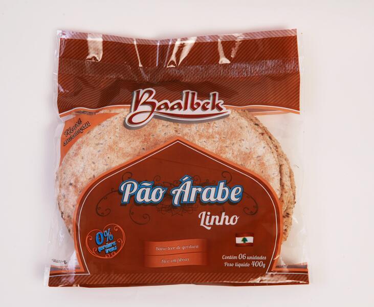 PÃO ÁRABE LINHO 1/2 DZR$ 6.50